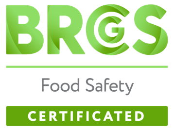 Logo BRC Food Safety Certificated