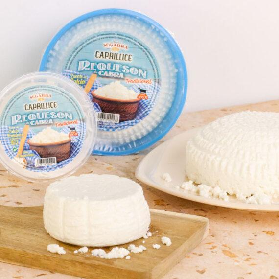 Requesón de cabra, uno de nuestros quesos frescos ideal para recetas dulces y saladas