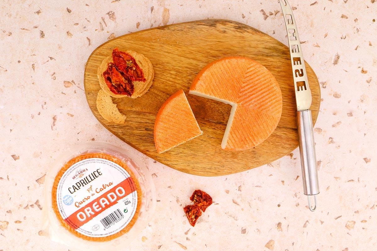 Queso oreado de cabra Caprillice, el primer queso de Lácteos Segarra.