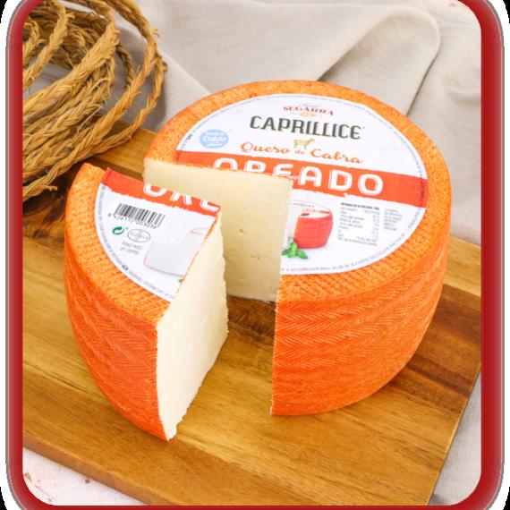 queso de cabra oreado caprillice de lácteos segarra