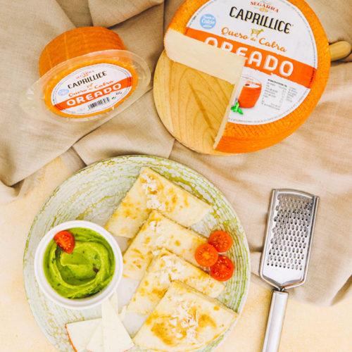 Quesadilla de queso oreado