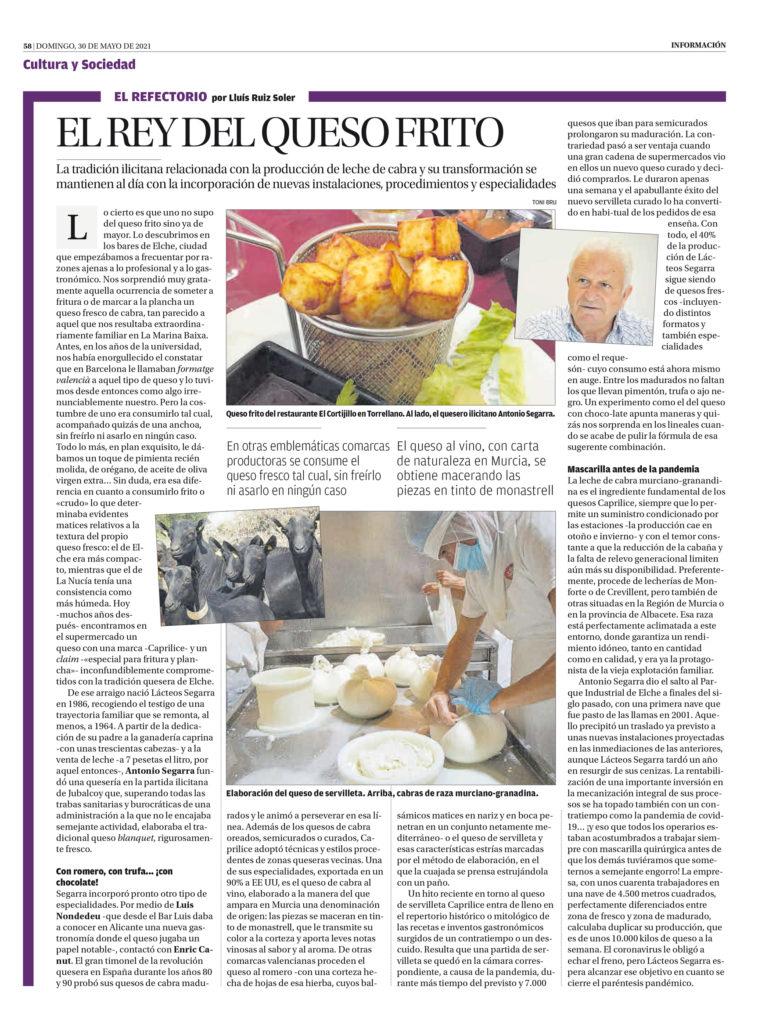 Noticia Diario Información Lacteos Segarra
