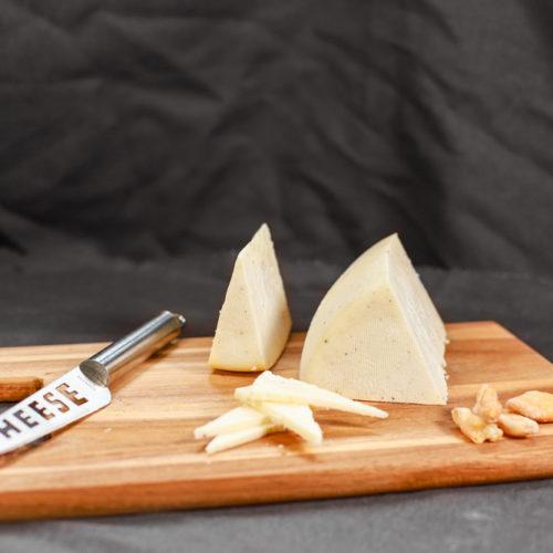 cortar queso de trufa según su forma