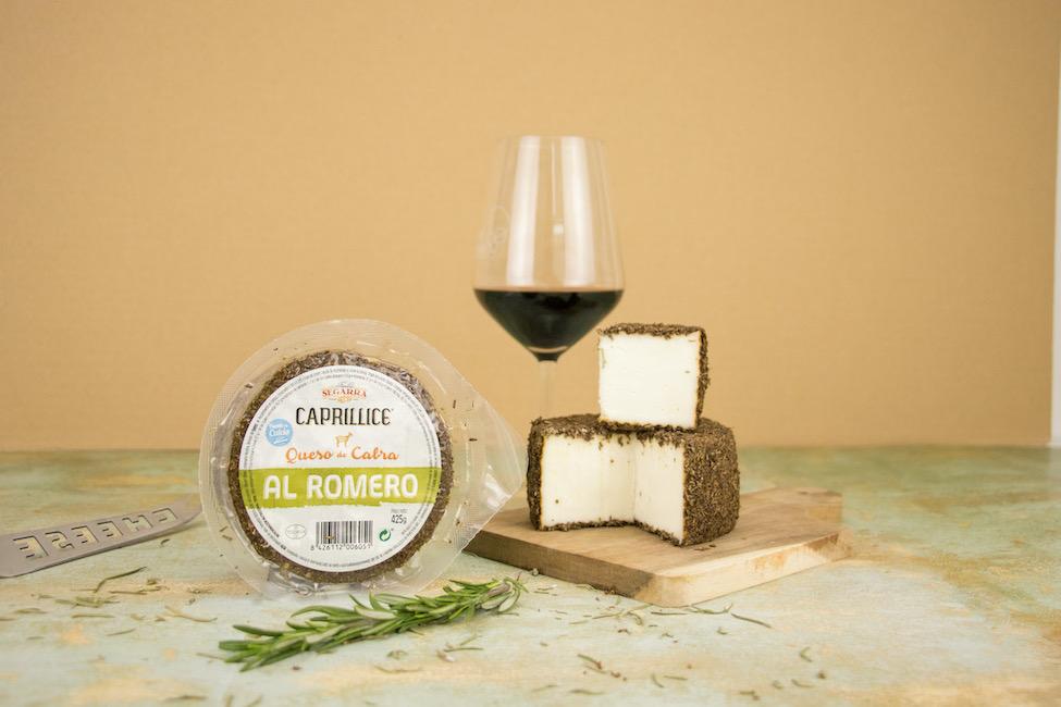Queso al romero: vinos que combinan con queso