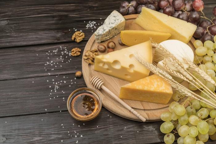 Alimentos para acompañar con nuestros quesos